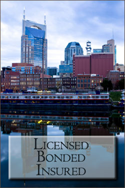 Licensed, Bonded, Insured, Nashville Janitorial Services